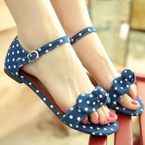 Summer Fashion Polka Dot Sandals SS..