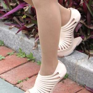 Fish head Super high heel sandals 1..