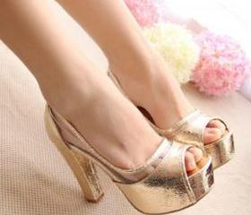 Summer fashion female high-heeled sandals SS05063SH