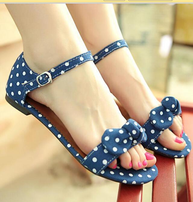 Summer Fashion Polka Dot Sandals SS05253SH
