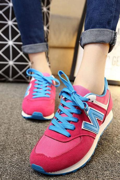 Fashion round head Multicolor casual sports shoes 6321818