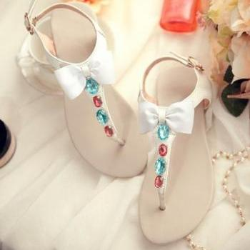 Fashion leather sandals